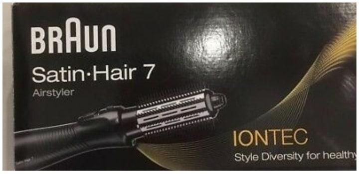 tecnologia iontec braun satin hair 7
