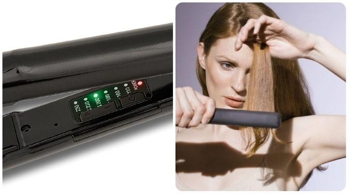eliminar piojos y liendres plancha de pelo