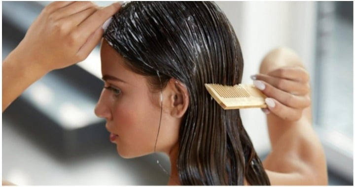 paso 1 lavar cabello