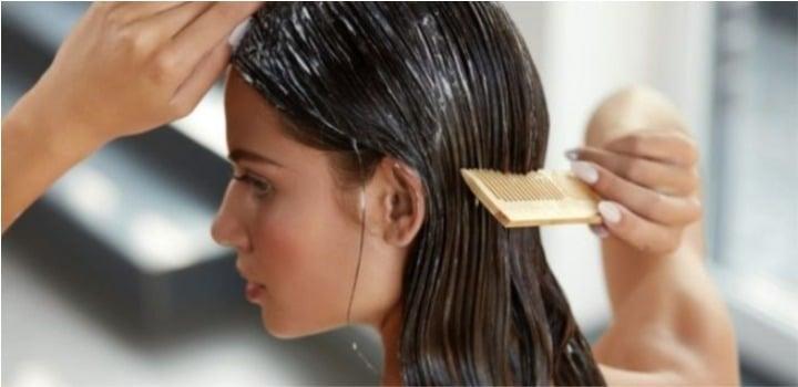 planchar pelo con crema de peinar