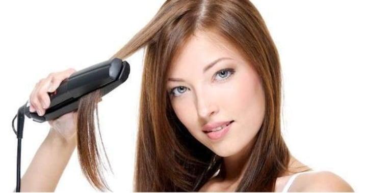 procedimiento para planchar el pelo paso a paso