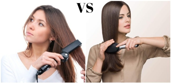 diferencias entre planchas de pelo y cepillos alisador electricos