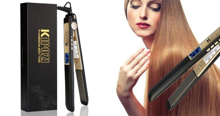 plancha de pelo profesional de kipozi 2,5 cm