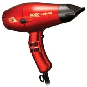 secador de pelo Parlux 3500 de color rojo