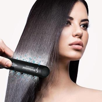 Mejores planchas de pelo de vapor